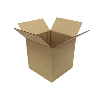 Regular kraft box 12''x12''x12'' 12 / pk