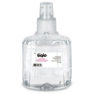 Savon à main GOJO mousse LTX-12 1200ml 2 / bte