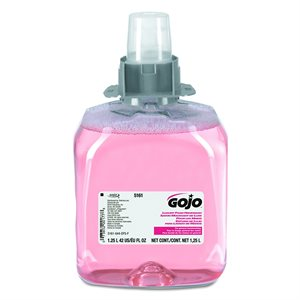 Savon à main GOJO mousse rose FMX-12 1250ml 3 / bte